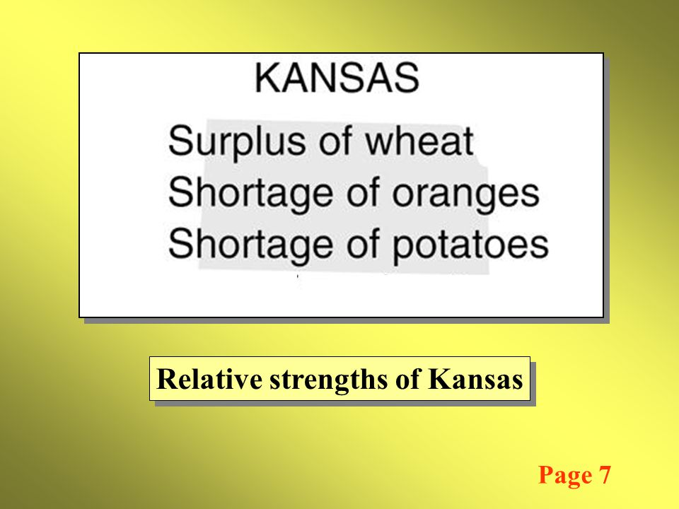 Relative strengths of Kansas Page 7