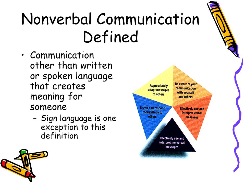 non verbal communication skills It's important to be aware of nonverbal messages, so we can avoid sending and receiving unintentional messages through our expressions and body movements nonverbal communication causes us to make many judgments and assumptions.
