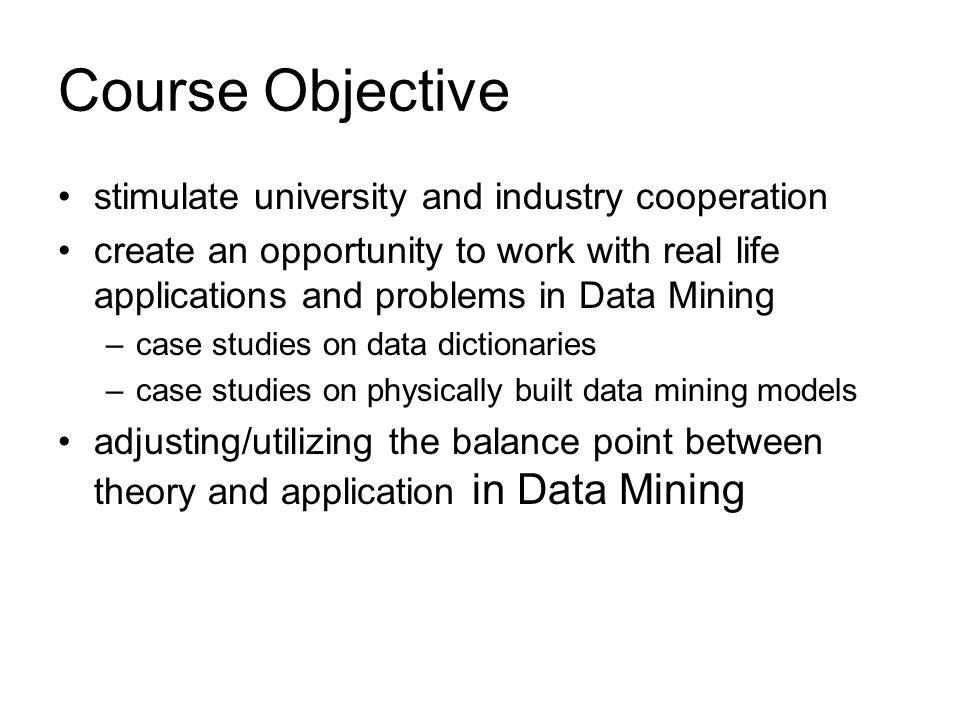 Data Mining Case Studies