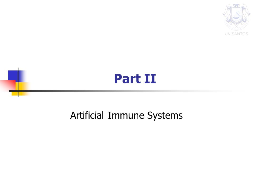 Part II Artificial Immune Systems
