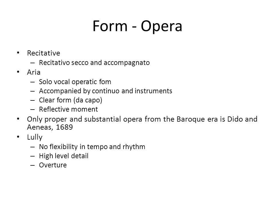 Discuss Purcell's treatment of baroque compositional techniques in ...