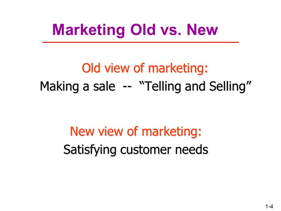 1-3 What Is Marketing. Simple Definition: Marketing is managing profitable customer relationships.