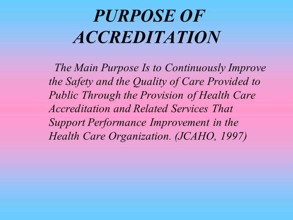 INTRODUCTION  QUALITY OF CARE  COST  AHCPR, HHS  JCAHO, JCI