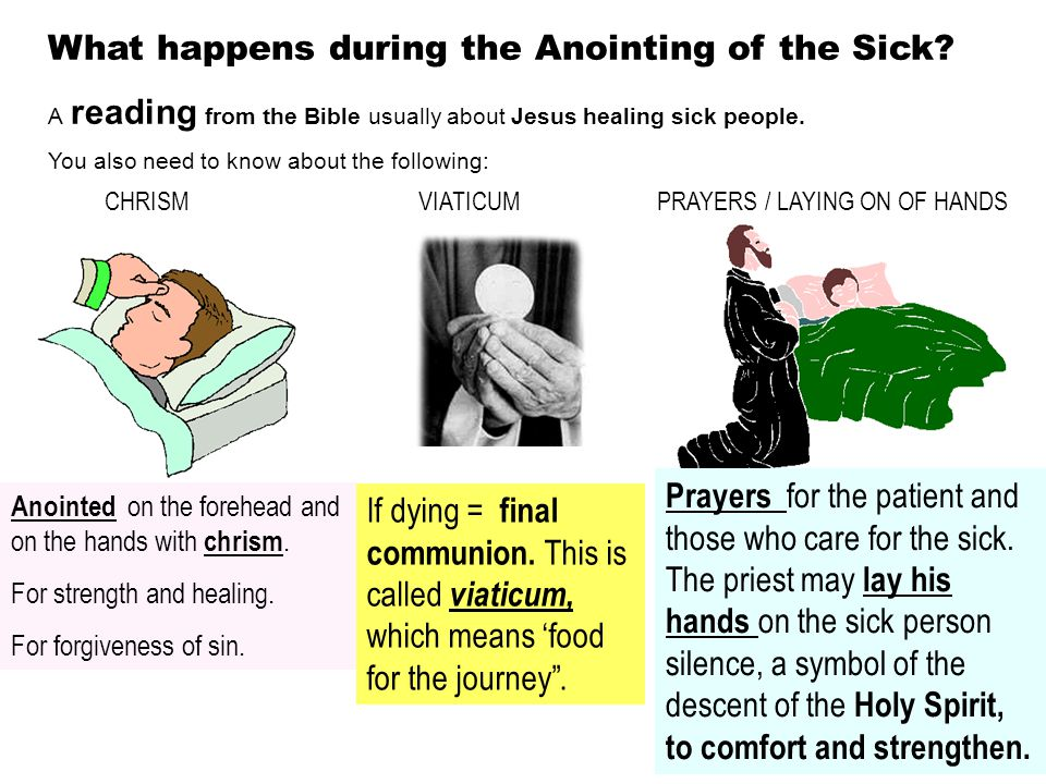 Signs And Symbols Of Anointing Of The Sick Term Paper Help