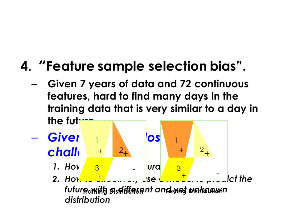 4. Feature sample selection bias .