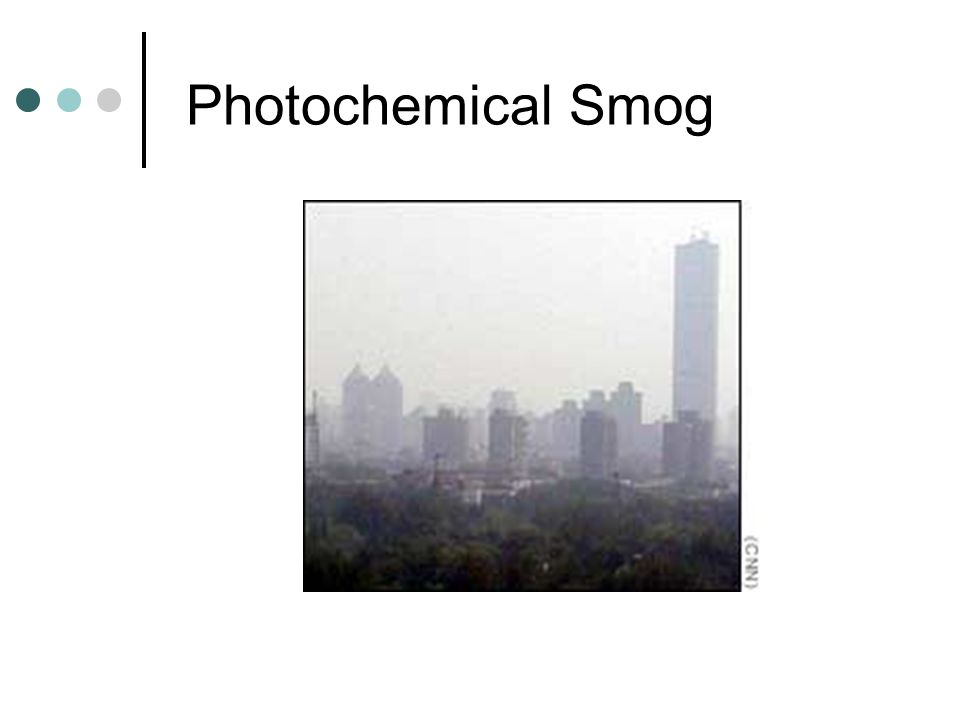 Photochemical Smog