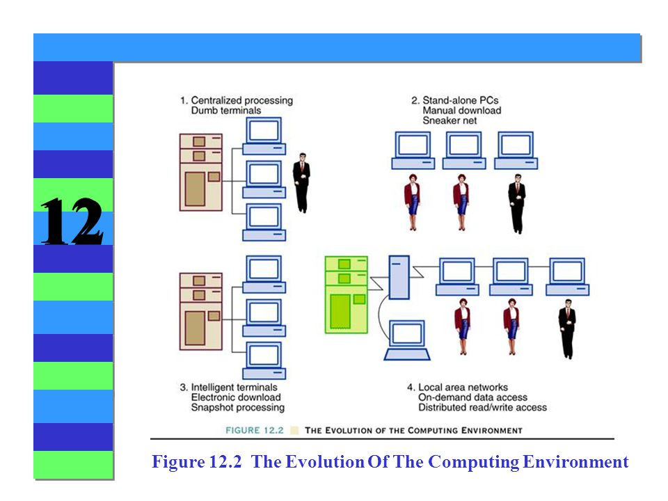 12 Figure 12.2 The Evolution Of The Computing Environment