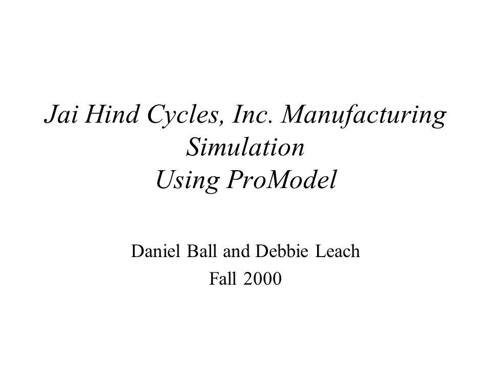 Simulation Using ProModel Irwin Industrial Engineering