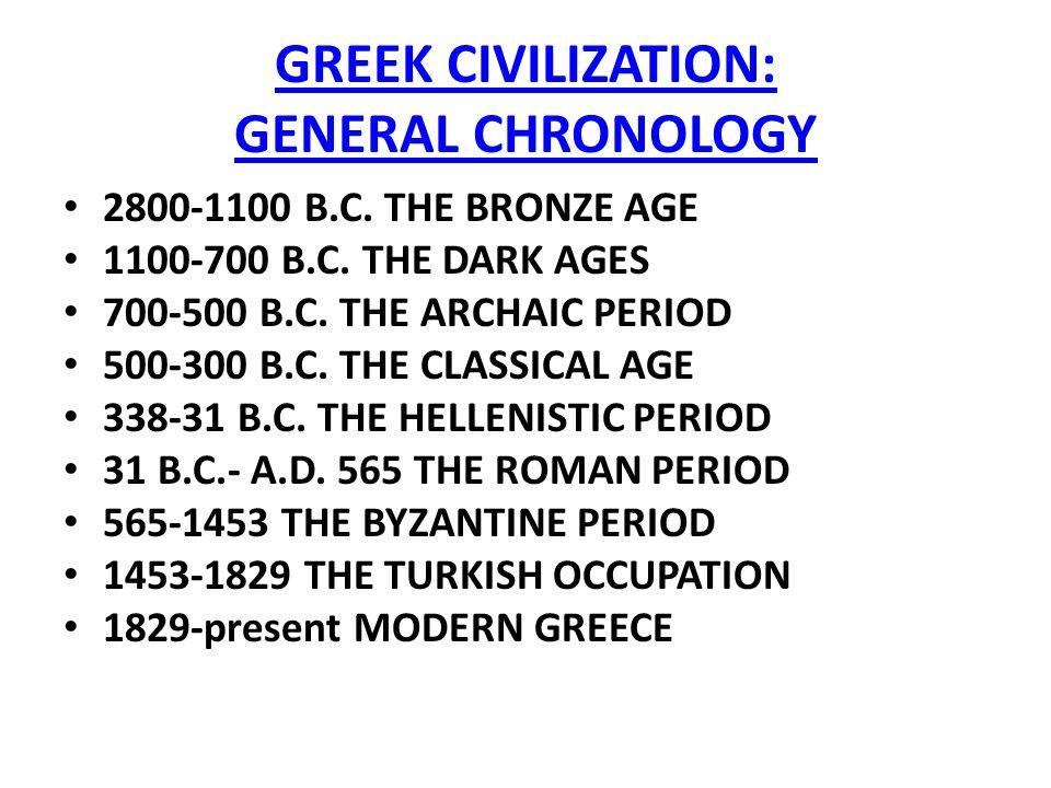 Art of Greek Civilization Greek Civilization General