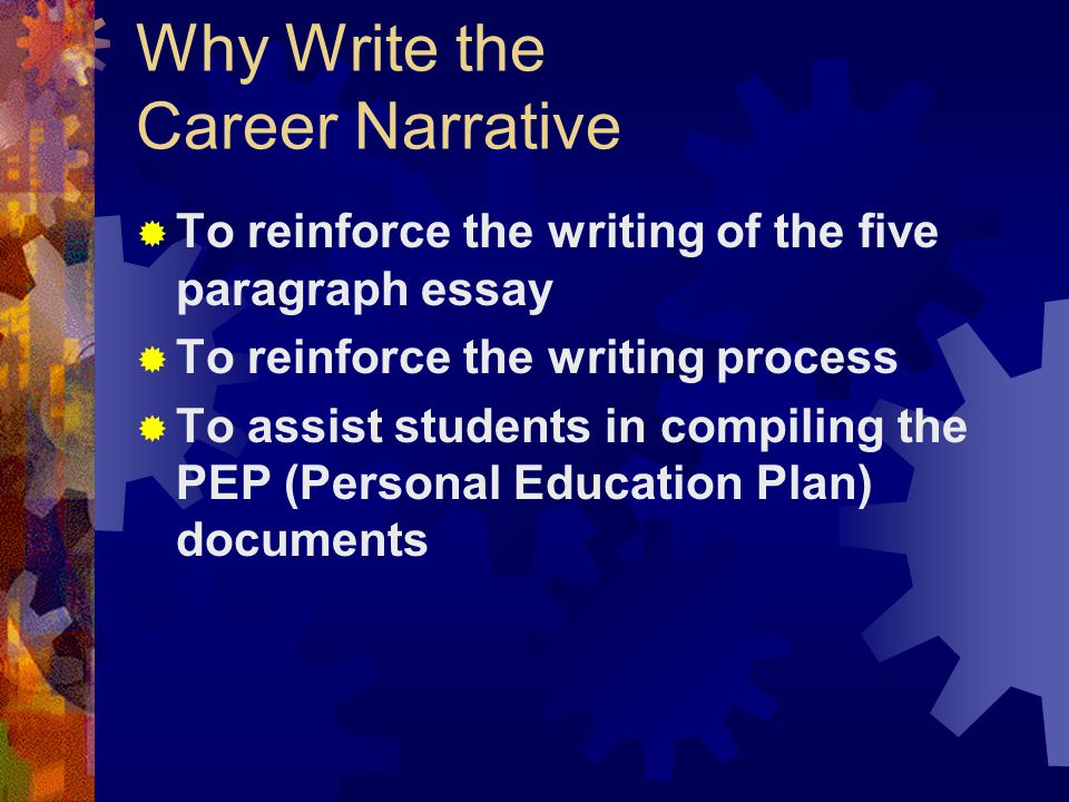 five paragraph essay narrative