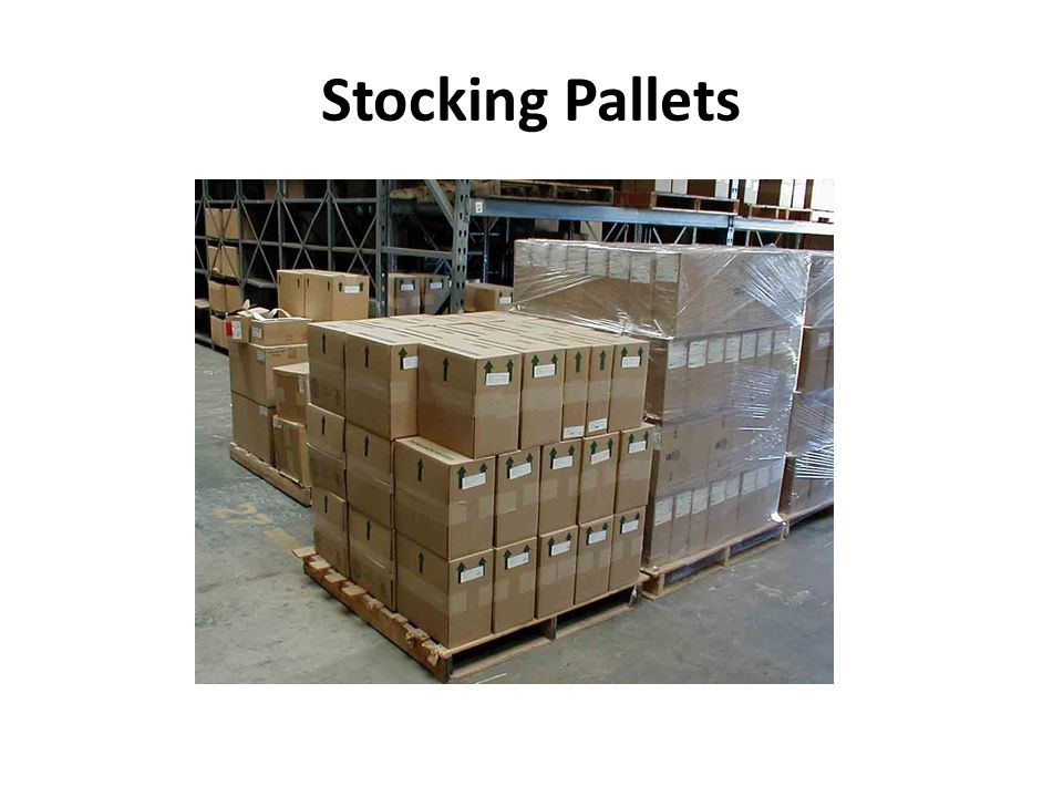 Stocking Pallets