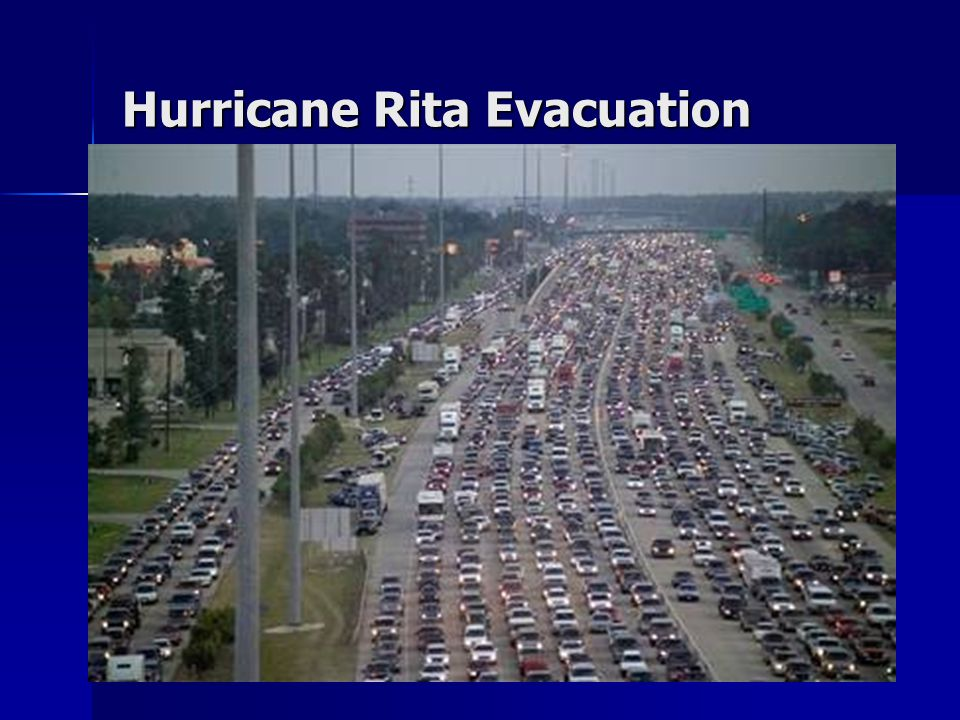 Hurricane Rita Evacuation