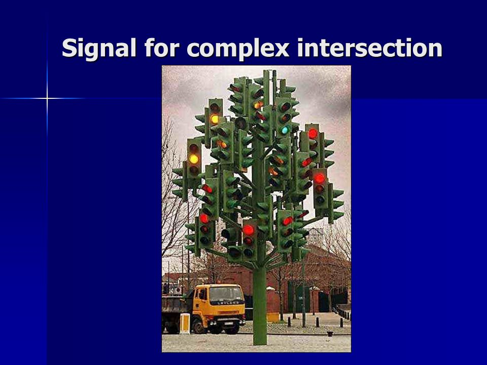 Signal for complex intersection