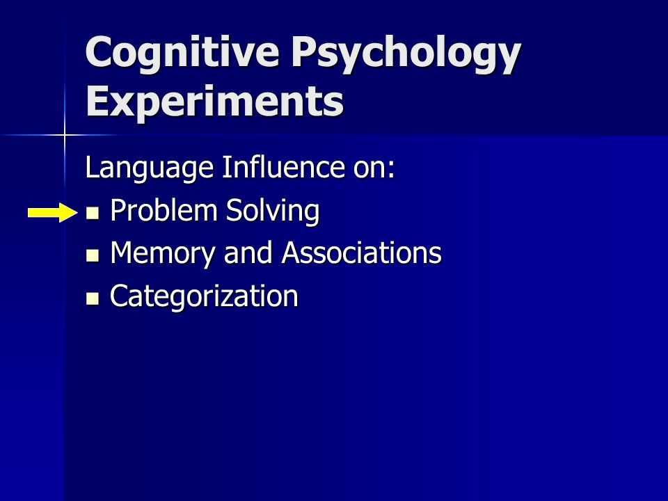 experimental psychology experiments Experimental approaches to the study of personality research is the last refuge of the generalist in psychology: or experiments are the better way of.