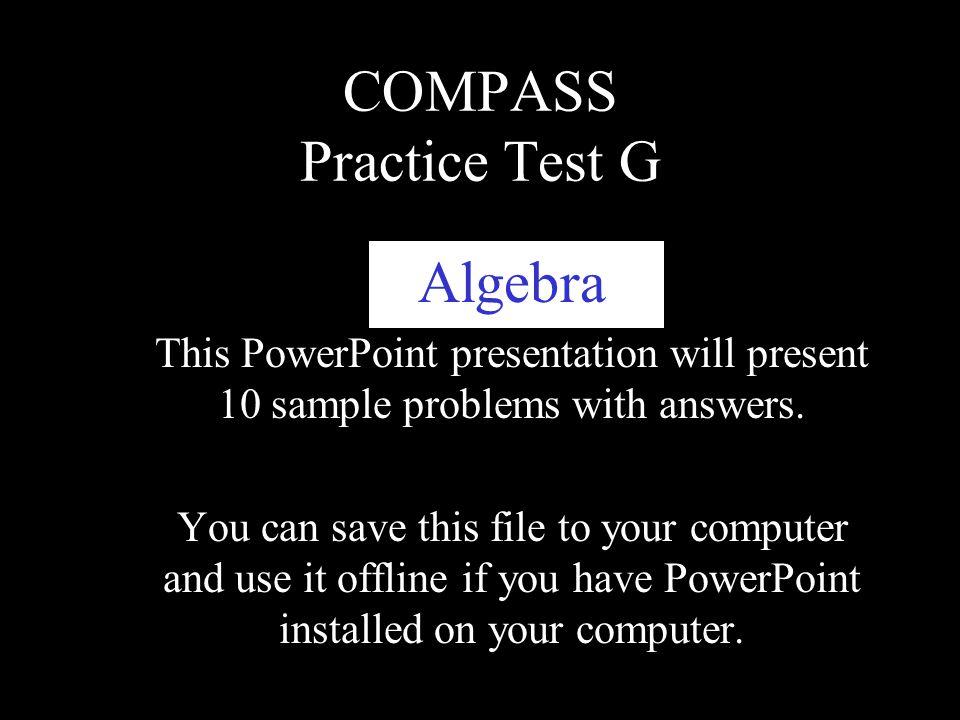 compass powerpoint