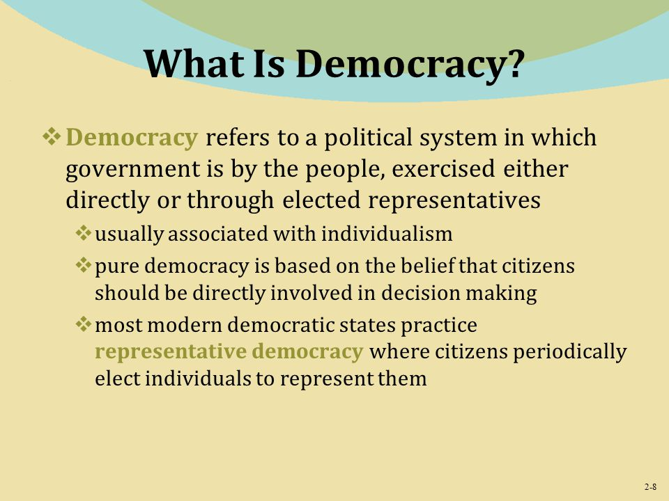 2-8 What Is Democracy.