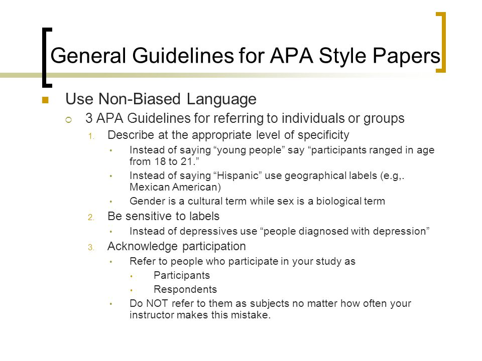 term paper format in apa style