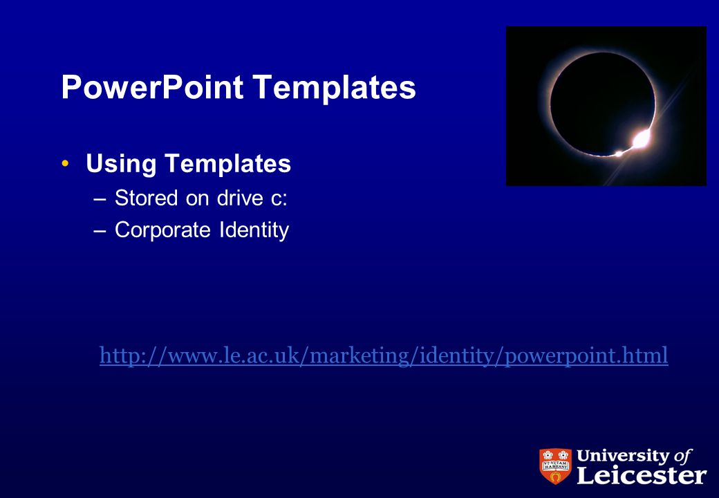 department of physics and astronomy an introduction to powerpoint, Modern powerpoint