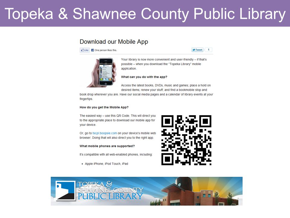 Topeka & Shawnee County Public Library
