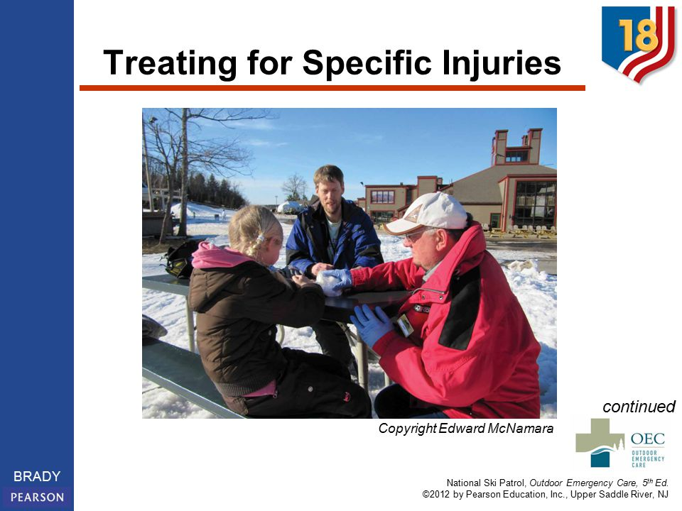 National Ski Patrol, Outdoor Emergency Care, 5 th Ed.