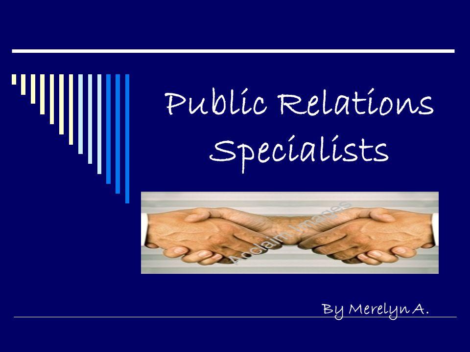 public relation specialist