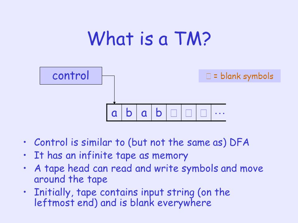 What is a TM.