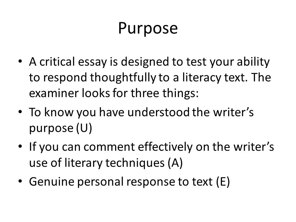 Assessment Requirements Write 2 critical essays from different genre Drama, Prose, Poetry, media 25 marks each
