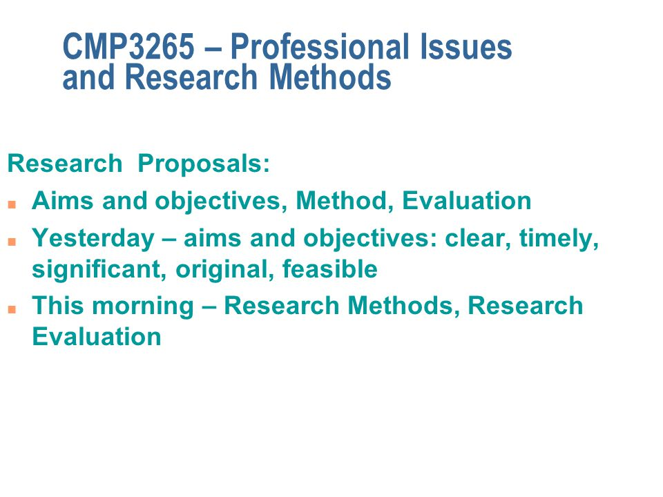 evaluation of differential research methods