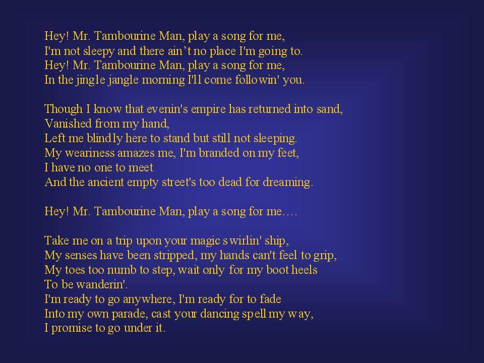 Lyric jingle jangle jingle lyrics : Folk Rock. Folk Music Revival Begins in 1930s when Lomaxes ...