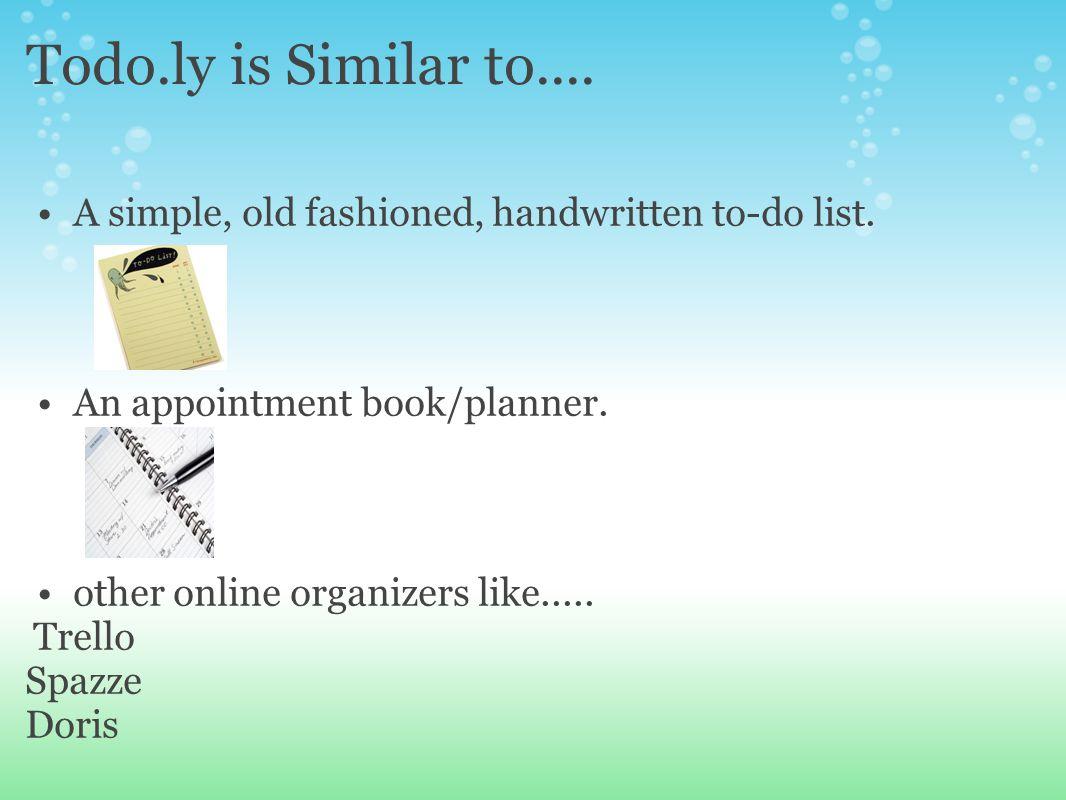 simple online todo list
