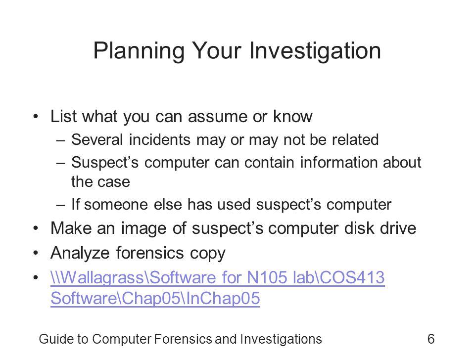 quiz computer forensic investigation