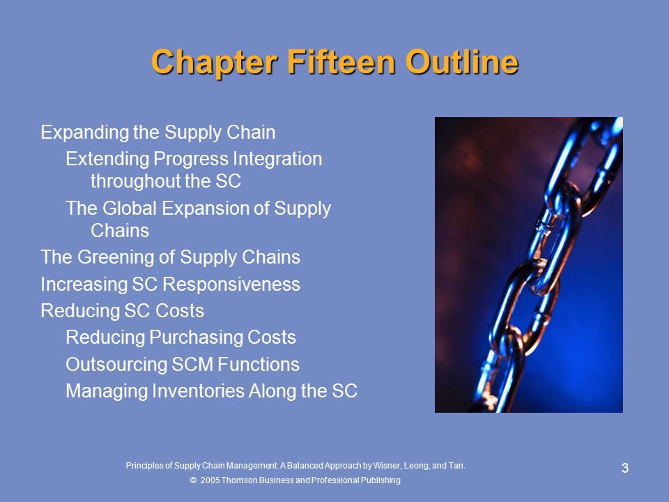 Chapter 15 looking to the future of supply chain management 3 principles fandeluxe Image collections