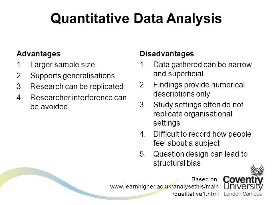 Dissertation quantitative data analysis example