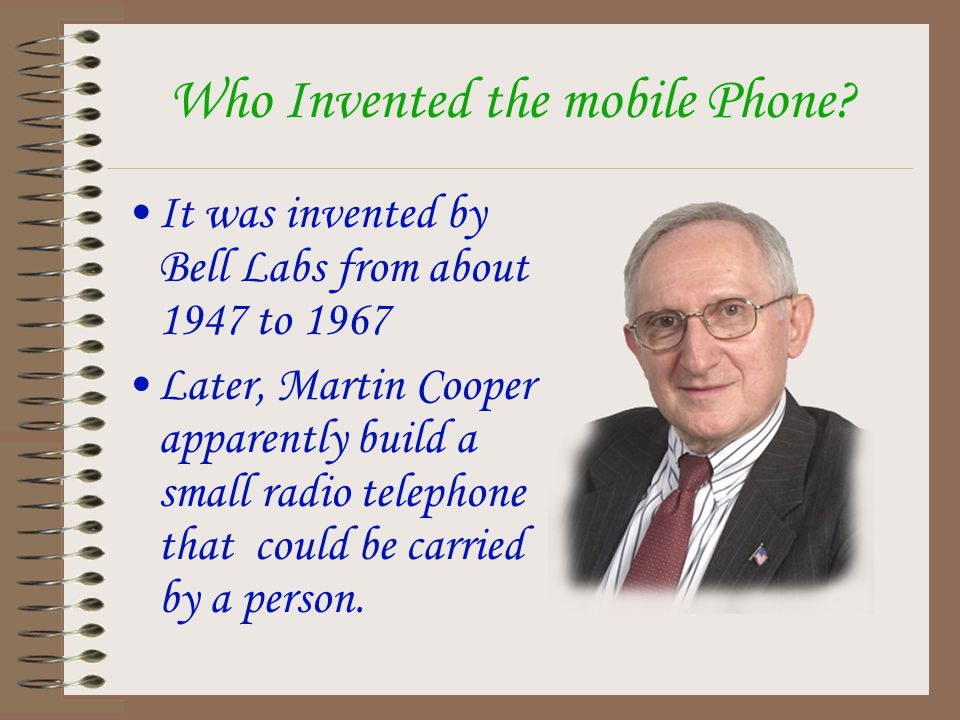 We all know what mobile phones are, but do we really know how do they work and how do they have improved.