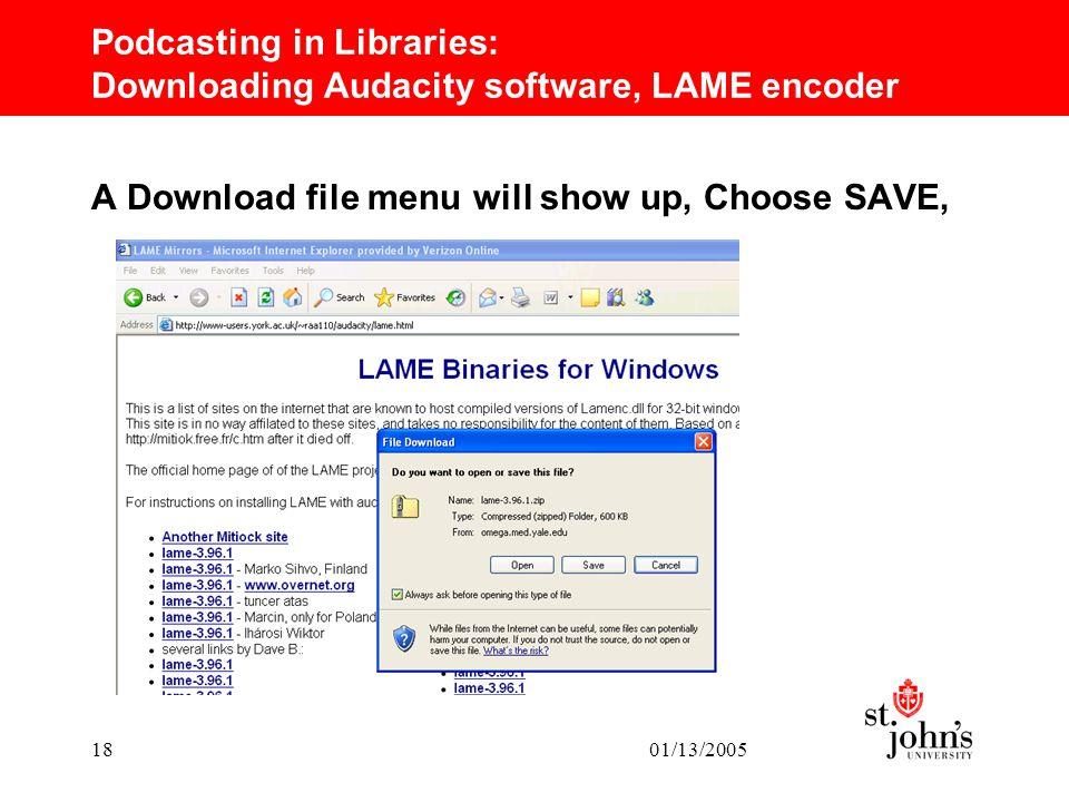 Скачать файл lame enc dll для audacity