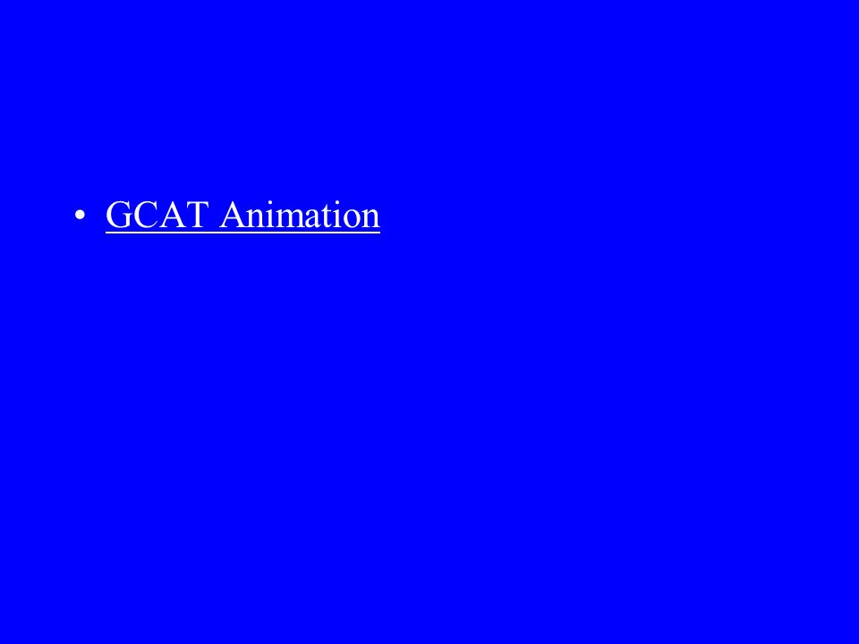 GCAT Animation