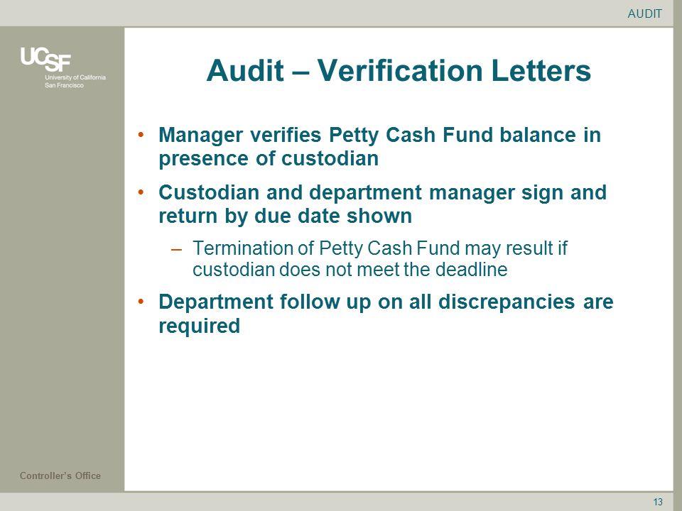 Petty Cash Custodian Workshop Research and Department Petty Cash ...