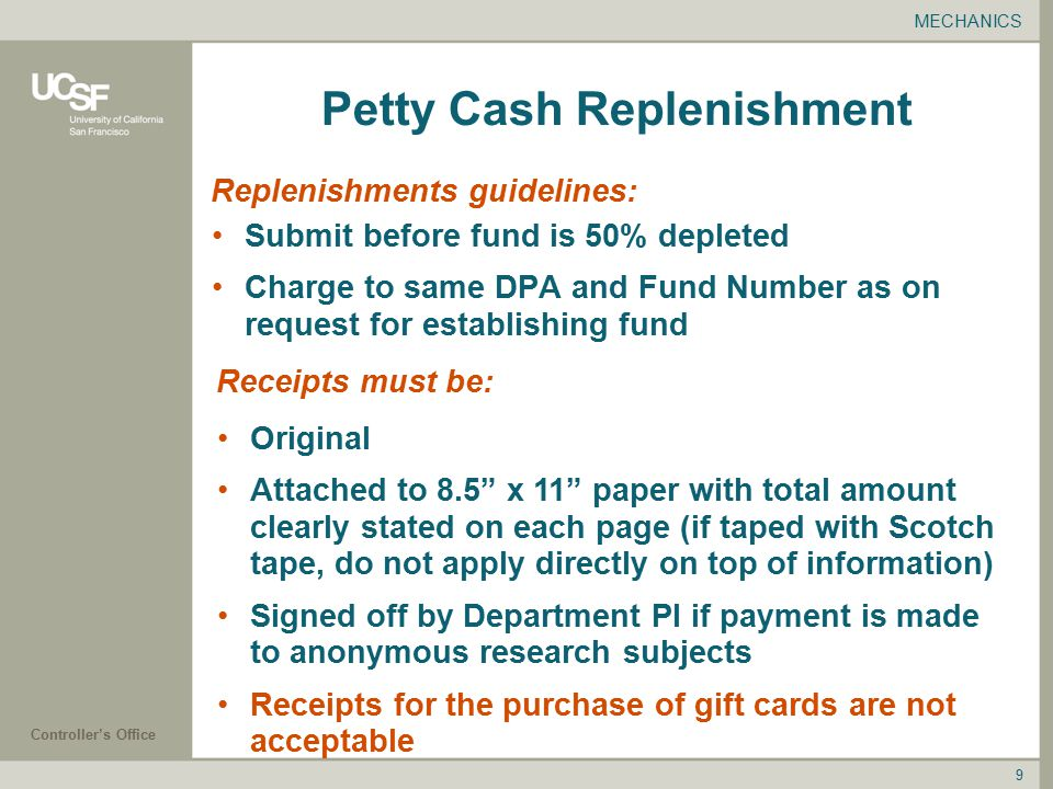 request for petty cash letter - Template