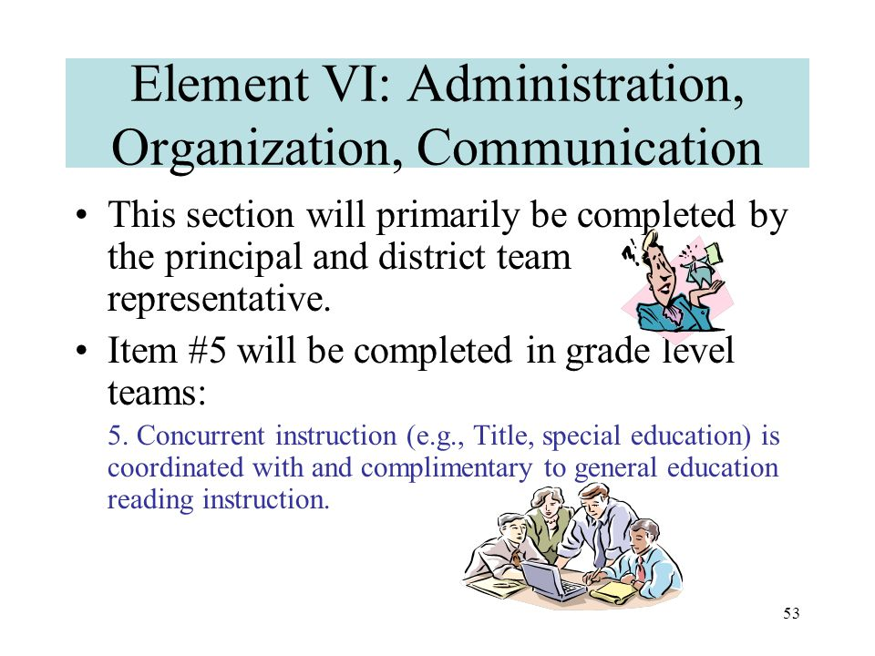 52 Elements III, IV, and V: Instruction Note that if an instructional support system (benchmark, strategic, or intensive) is quite effective (i.e., almost all students made adequate progress), then problem-solve at the individual student level.