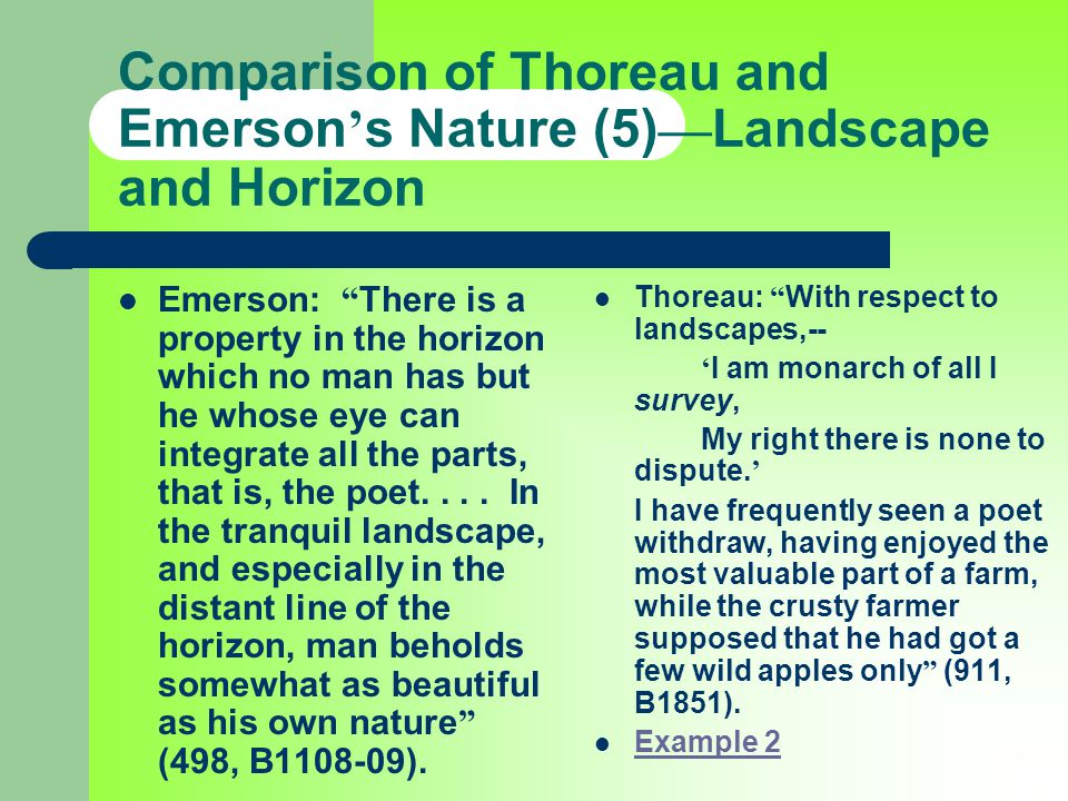 """What does Emerson mean when he writes, """"Our age is retrospective"""" in Nature by Ralph Waldo Emerson?"""