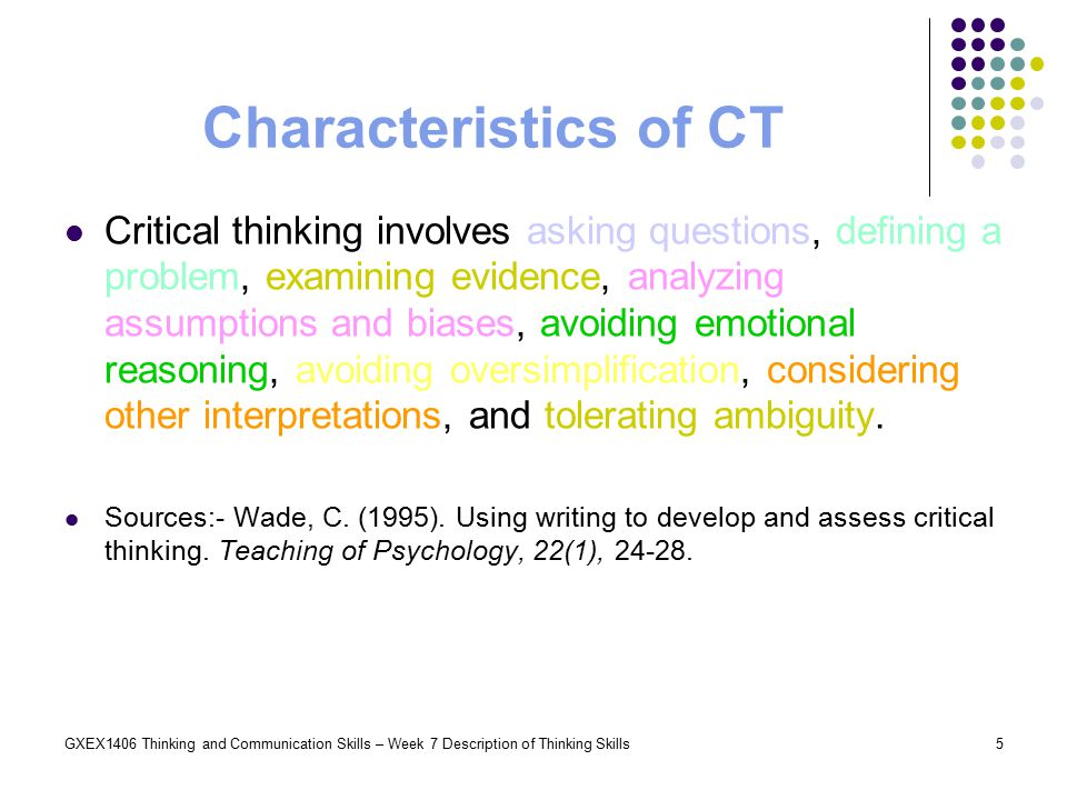 is critical thinking negative thinking Thinking vs critical thinking the two think tanks: thinking and critical thinking every human being is capable of thinking, but some say that few are able to practice critical thinking.