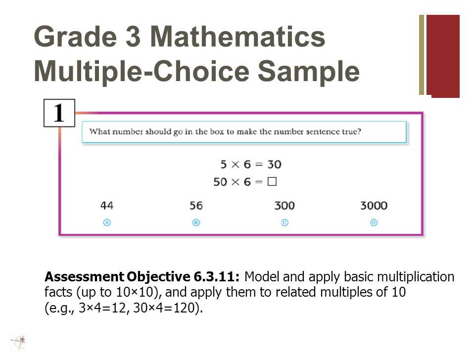 ISAT Mathematics Sessions Grades 3-8 Test Window: March 5- March 16, 2012 Session 140* Multiple-Choice Items *The first 30 items are an abbreviated form of the Stanford 10.