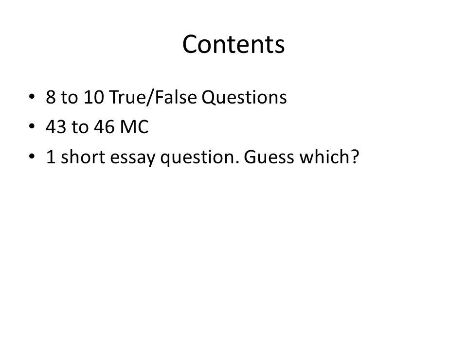 short essay definition