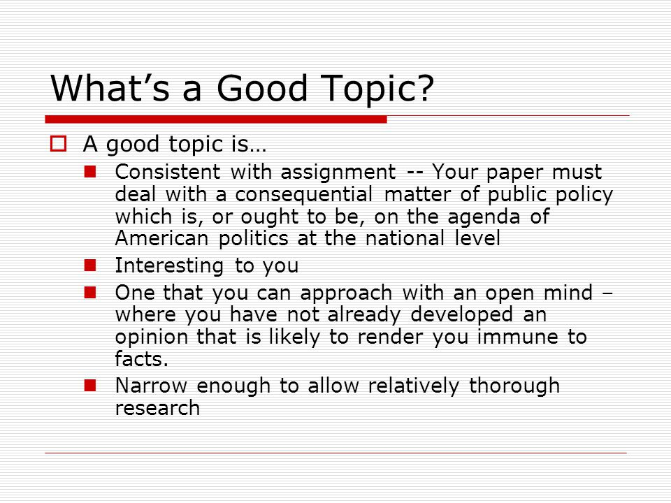Public policy essay topics