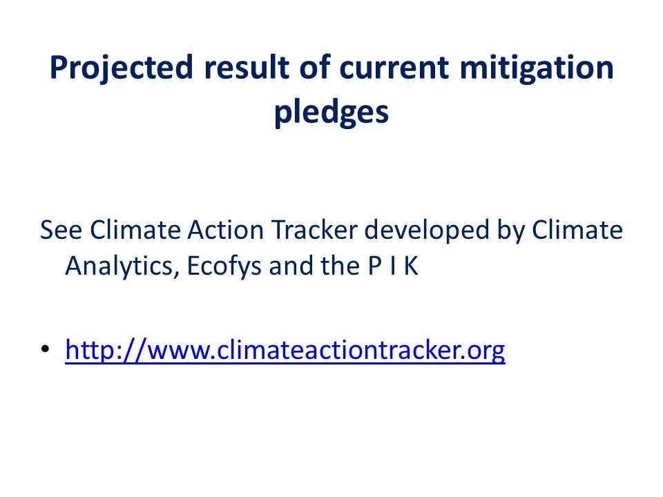 climate analytics sids