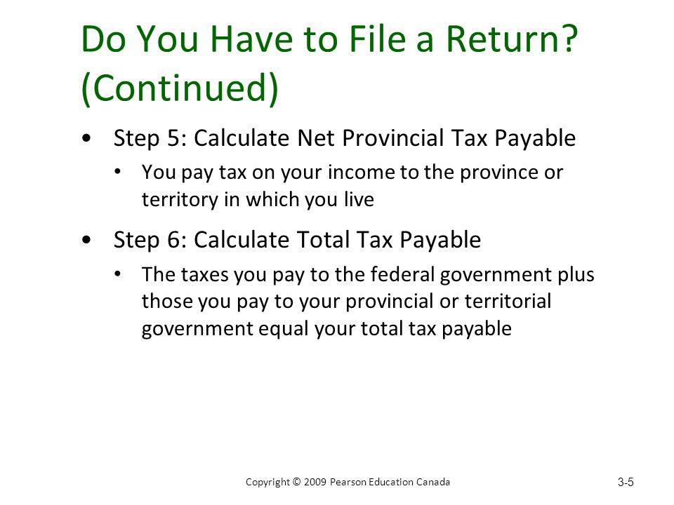 Do You Have to File a Return.