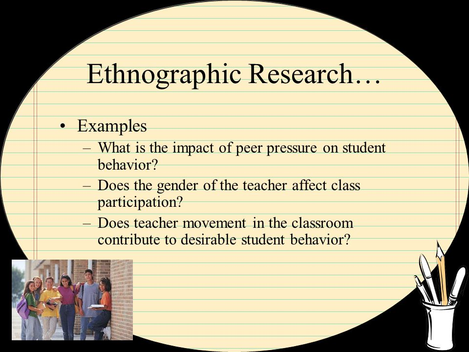 examples of ethnographic research topics