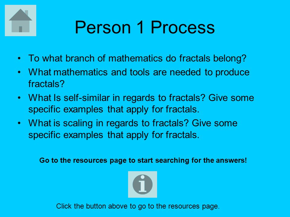 Anyone has information on FRACTALS; a paper you had to write or anything similar.?