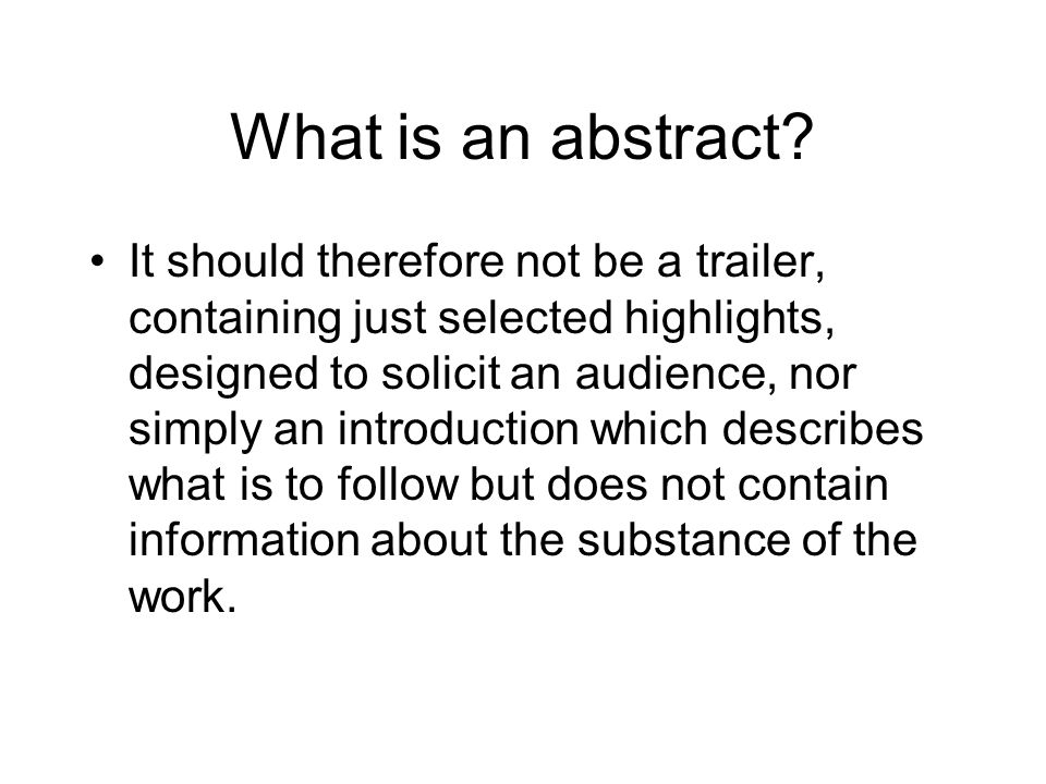 dissertation abstract introduction