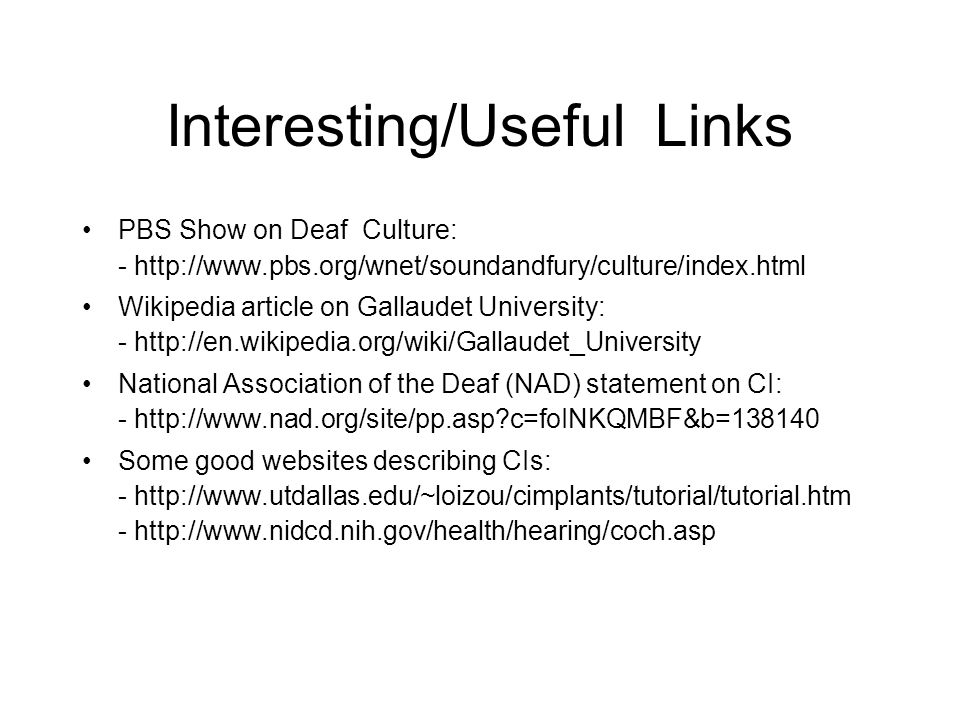 cochlear implants deaf culture medical breakthrough or cultural  15 interesting useful links pbs show on deaf culture